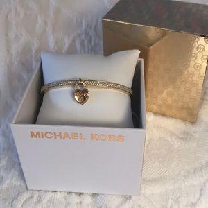 Michael Kors 🎁 boxed heart and crystal bracelet